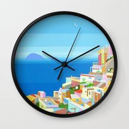 VIDIGAL FAVELA IN RIO Wall Clock