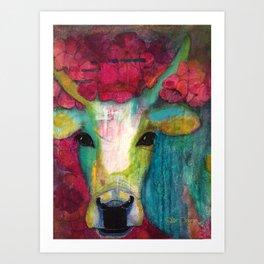 Cow III Art Print