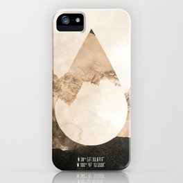 Longitude/Latitude iPhone Case