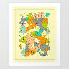 INNER-FORMATIONS (6) Art Print