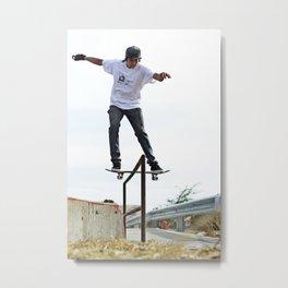 Boardslide II Metal Print