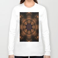 copper Long Sleeve T-shirts featuring Copper Fantasia by Robin Curtiss