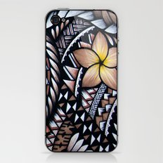 Samoan Beauty iPhone & iPod Skin
