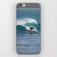 surfer iPhone & iPod Skins featuring Surfer by MapMaster