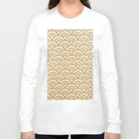 scales Long Sleeve T-shirts featuring scales by cavernsss