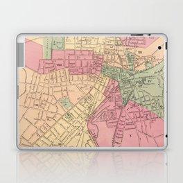 Vintage Map of Worcester MA (1871) Laptop & iPad Skin