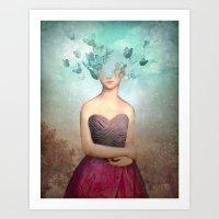 imagine Art Prints featuring Imagine by Christian Schloe