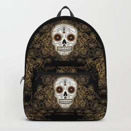 Vintage Sugar Skull Backpack