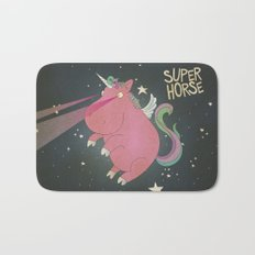 Super Horse... Unicorn Dreams. Bath Mat