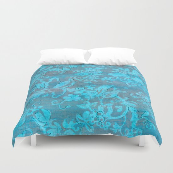 I have the blues Duvet Cover