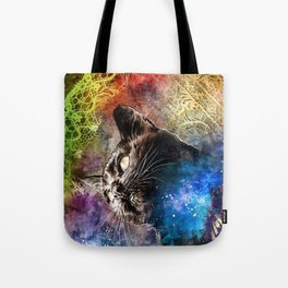 Interlacing Fabric of Light Tote Bag