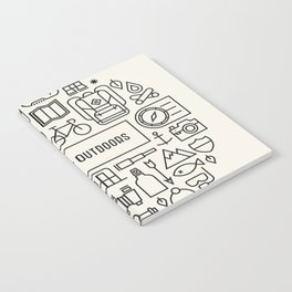 Great Outdoors Notebook