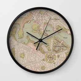 Lake Burley Griffin Wall Clock