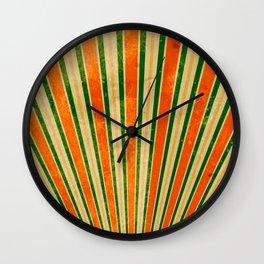 retro background Wall Clock