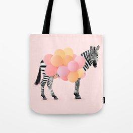 PARTY ZEBRA Tote Bag