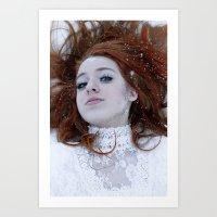 Ice Queen II. Art Print