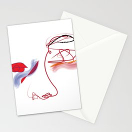 Distorted Stationery Cards