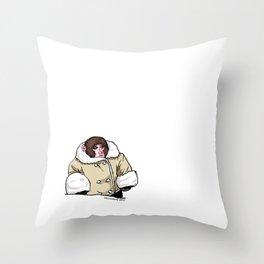 Baby Ikea Monkey Throw Pillow