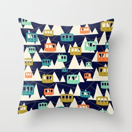 Alpine Wonderland Throw Pillow