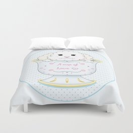 Cup of love Duvet Cover