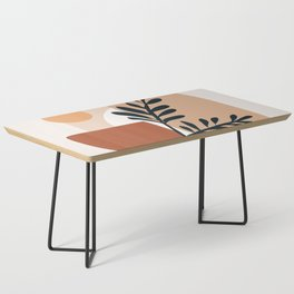 Geometric Shapes Coffee Table