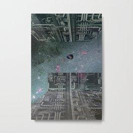 atmosphere 35 · into the orb Metal Print