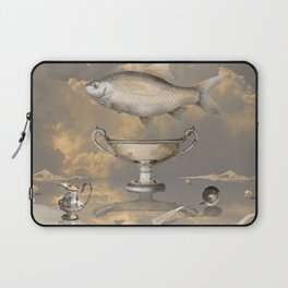 Silver Mood Laptop Sleeve