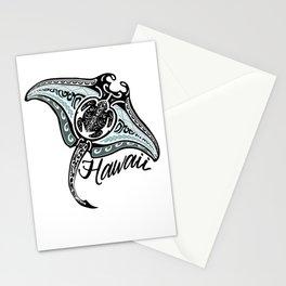 Hawaiian Tribal Ray Stationery Cards