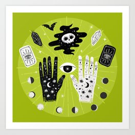 Let Your Magic Show You The Way Art Print
