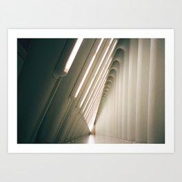 Vaults Art Print