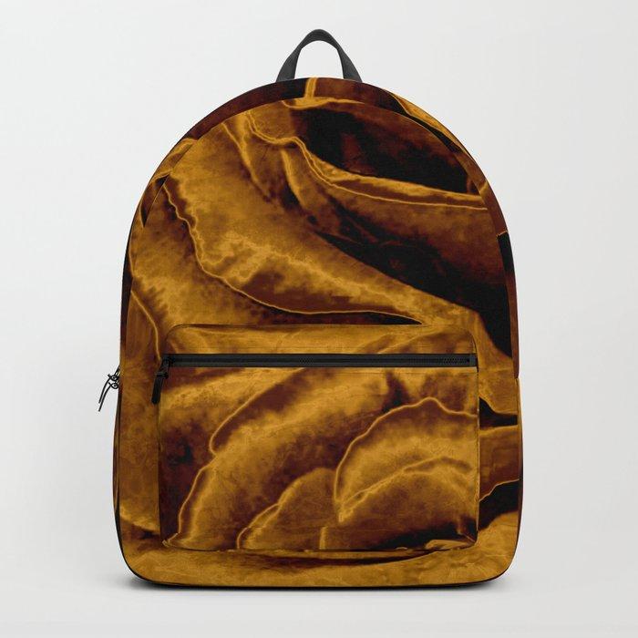 copper velvet rose Backpack