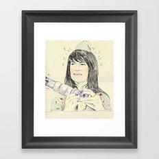 abbi Framed Art Print