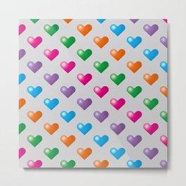 Hearts_F04 Metal Print