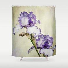 Iris Ripple Shower Curtain