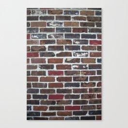 Brick Wall Vertical Canvas Print