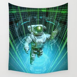 Diving The Data Core Wall Tapestry