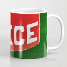 Juice - Red and Green - Dream Pop Art Coffee Mug