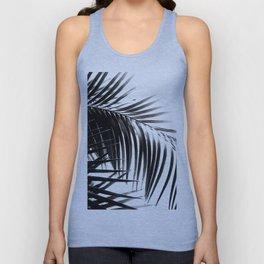Palm Leaves Black & White Vibes #3 #tropical #decor #art #society6 Unisex Tank Top