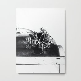 | still life - a study of the withered time | Metal Print