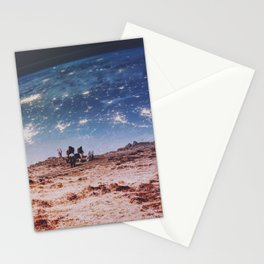 Horses in Space Stationery Cards