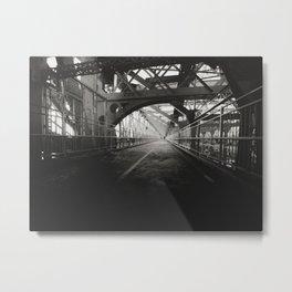 New York City: Williamsburg Bridge Metal Print