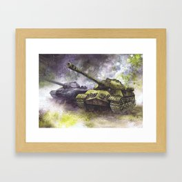 IS-3 Tanks Framed Art Print