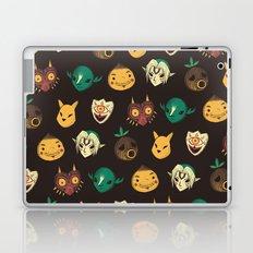 pattern of masks.  Laptop & iPad Skin
