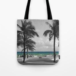 Miami Beach Florida Ocean photography Tote Bag