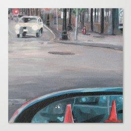 Driver's Side Mirror Canvas Print