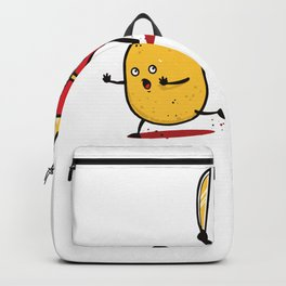 Funny Fries Horror Halloween graphic - perfect gift Backpack