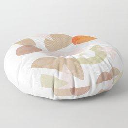 Minimal Autumnal Dance 1 Floor Pillow