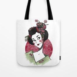 Decora Geisha Tote Bag