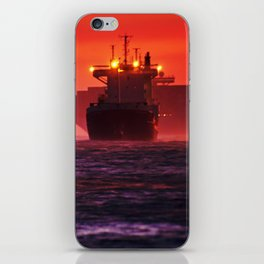 Ships in the windstorm iPhone Skin