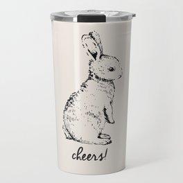 cheers little bunny Travel Mug